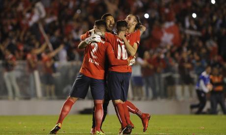 Independiente vuelve a la final y sueña con ganar otra vez la Sudamericana