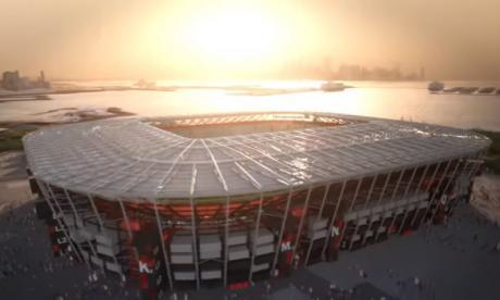 Conozca el estadio desmontable para el Mundial de Qatar 2022