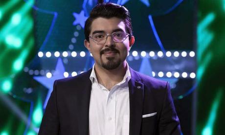 Eduardo Escolar, cantante barranquillero.