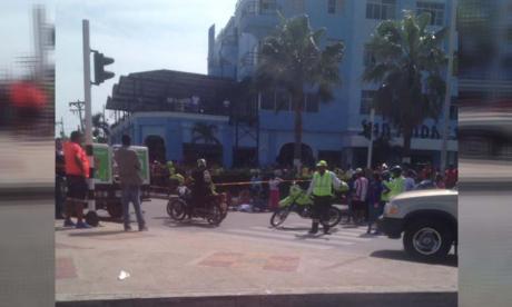 Muere hombre tras ser arrollado en la calle 30 con carrera 46