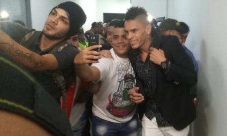 """""""Soy loco"""", dice Jonatan Álvez al llegar a Barranquilla"""