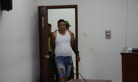 Iván Alberto Barrios, capturado por el asesinato de su esposa.