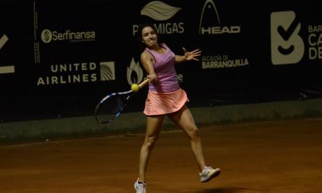 ¡Sigue la favorita! María Camila Osorio pasó a la semifinal del Mundial Juvenil de Tenis
