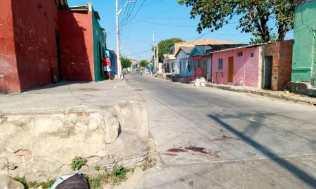 Calle 24 con carrera 29, lugar donde ocurrió el ataque a bala.