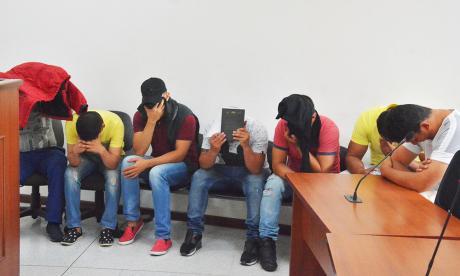 Imputados policías que habrían vendido datos a 'los Plaqueteros'