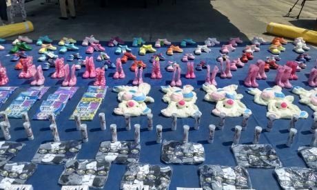 Dian reporta decomiso de contrabando en bodega de San Roque
