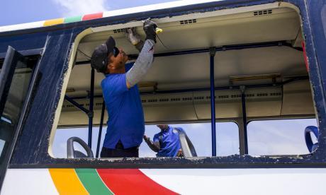 Autoridades se 'tomarán' rutas de Transmetro para prevenir ataques