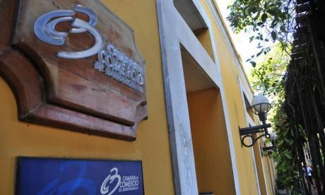 Facha de una de las sedes de la Cámara de Comercio de Barranquilla.