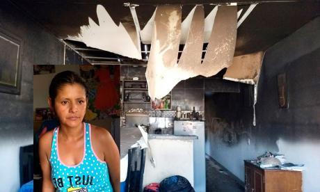 """""""Los niños gritaban: papi, mami, nos estamos quemando"""": relato sobre incendio en La Pradera"""