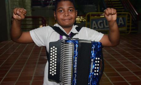 Jerónimo Viilazón, nuevo rey infantil vallenato 2018.