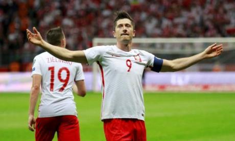Robert Lewandowski, capitan de la selección Polonia.