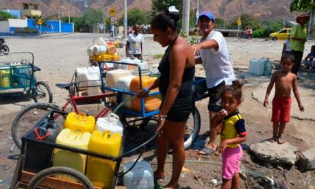 En Santa Marta buscan erradicar el 'cartel del agua'