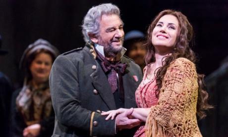 Plácido Domingo y Sonya Yoncheva, en 'Luisa Miller'