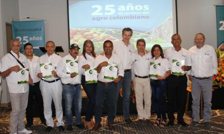 El director de Corpoica, Juan Lucas Restrepo; el del Centro Caribia, Juan Carlos Pérez, y el secretario de Desarrollo, Carlos Gutiérrez, lideraron el evento.