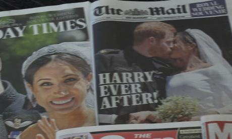 Windsor se recupera tras boda de Enrique y Meghan