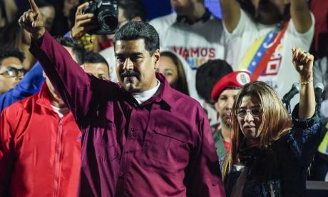 """""""No nos importa lo que digan"""", responde Maduro al Grupo de Lima"""