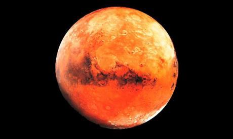 Nasa halla indicios de vida en Marte