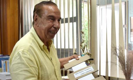 Rafael Salcedo escribe una nueva página en su recorrido de inventor