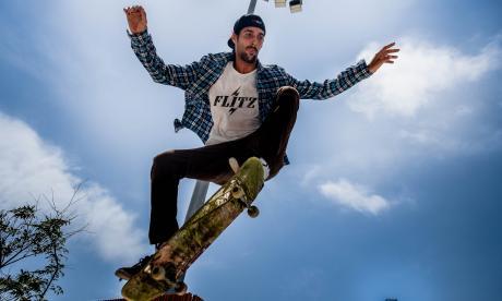 'Skaters', una tribu urbana que vuela con los pies en la tabla