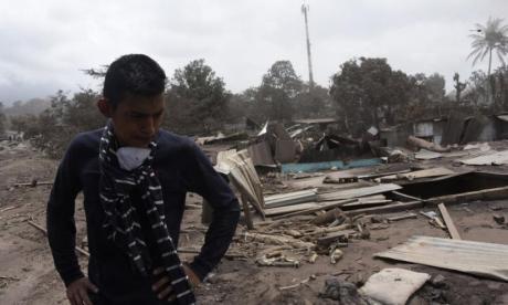 Erupción de volcán en Guatemala: sube a 332 los desaparecidos