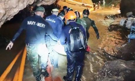 El angustioso relato de uno de los buzos que rescató a niños de Tailandia