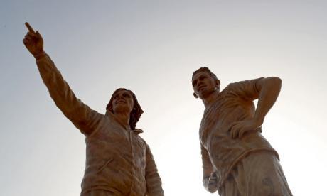 Paolo Guerrero y Ricardo Gareca tienen sus estatuas en Lima
