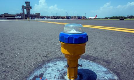 Terminan obras en el campo de vuelo del Aeropuerto Cortissoz