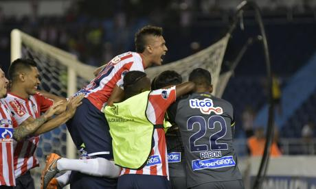 Junior clasifica a los octavos de final de la Copa Sudamericana