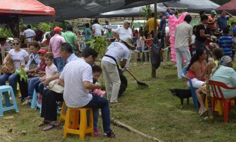 La Gallera se llenó de turistas por el Festival del Maíz