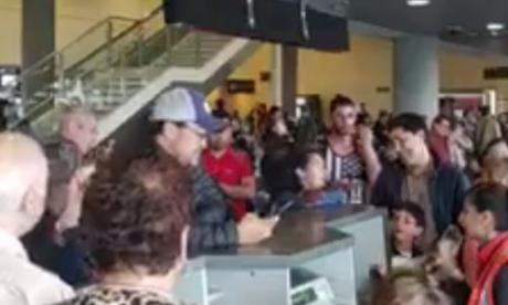 En video   Caos en aeropuertos por retrasos en vuelos de Avianca