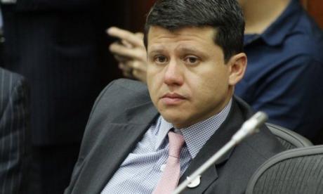 'Ñoño' Elías, político vinculado con Odebrecht.