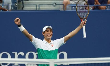 Nishikori se venga de Cilic y pasa a semifinales del US Open