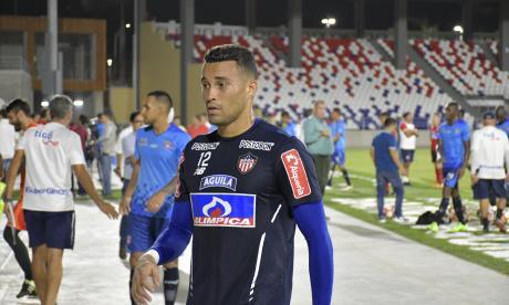 José Luis Chunga, arquero del Junior.