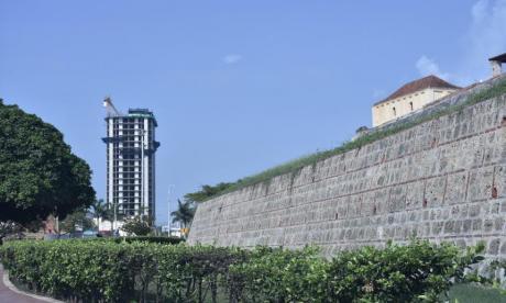 Edificio Acuarela ubicado en Cartagena.