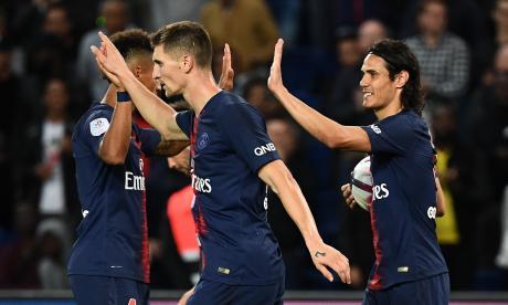 PSG golea sin Neymar ni Mbappé