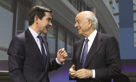 Carlos Torres Vila y Francisco González.
