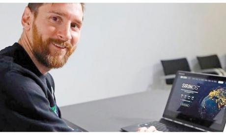 Messi, James y Cristiano, en la onda de las criptomonedas