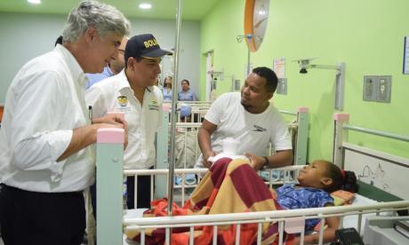 Aseguran $3 mil millones para el Hospital del Niño