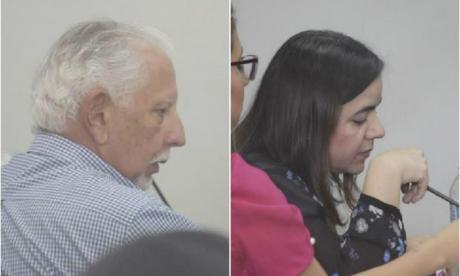 Ramón Navarro y Julia Serrano, sancionados.