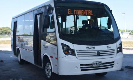 Transmetro estrena ruta A5-5 El Manantial desde este lunes