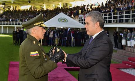 El presidente, con la nueva cúpula
