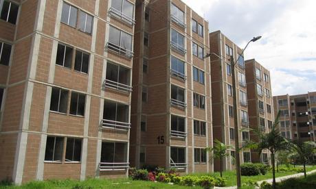 Urbanización Altos de San Juan, proyecto que forma parte del programa de vivienda gratuita del Gobierno.