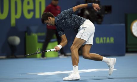 El serbio Novak Djokovic, número uno mundial.