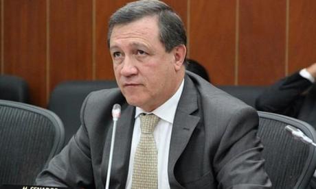 Ernesto Macías, presidente de Congreso.
