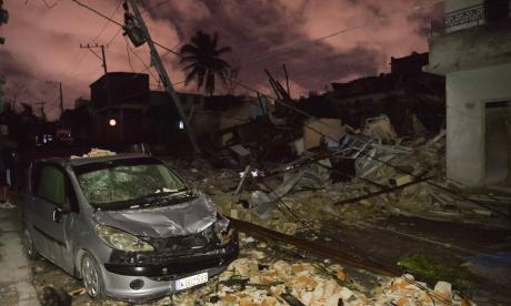 En video   Tres muertos en Cuba por un potente tornado