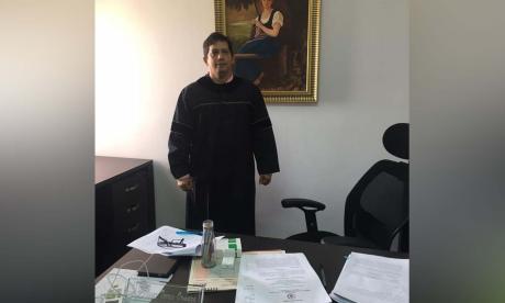 César Torres Ormaza, presidente del Tribunal.
