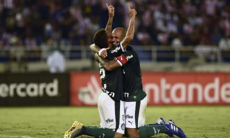El Palmeiras viene de celebrar ante Junior.