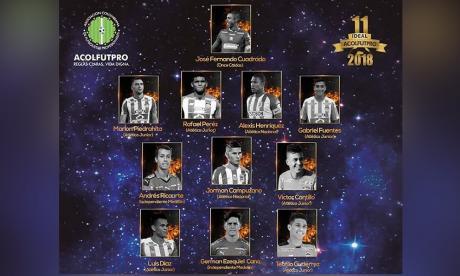 El 'Once ideal' de la temporada 2018.