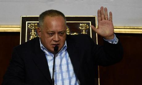 """""""A los militares los engañaron"""": Diosdado Cabello sobre desertores"""