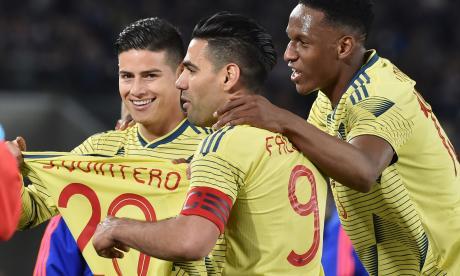 Falcao dedicó su gol a Juan Fernando Quintero